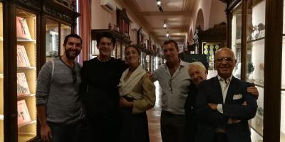 """Giovanni Muciaccia al Museo Anatomico della """"Vanvitelli"""""""