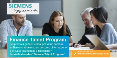 Finance Talent Program: al via le selezioni