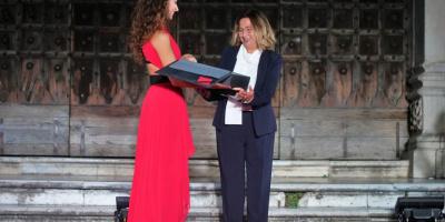 Le eccellenze della Vanvitelli, premio San Gennaro per Francesca Simonelli